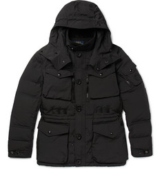Polo Ralph Lauren - Quilted Canvas Hooded Down Coat