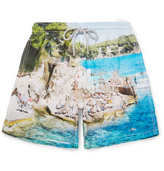 Vilebrequin Moorea Mid-Length Slim-Fit Printed Swim Shorts