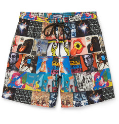 Vilebrequin Rolling Stones Moorea Mid-Length Printed Swim Shorts