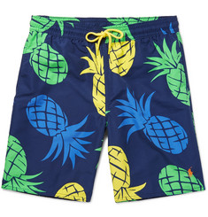 Polo Ralph Lauren Long-Length Printed Swim Shorts