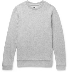 NN07 Luke Loopback Wool-Blend Jersey Sweatshirt