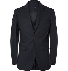 NN07 Blue Soho Slim-Fit Stretch-Wool Twill Suit Jacket