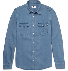 NN07 Nash Slim-Fit Denim Shirt