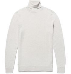 NN07 Richard Mélange Merino Wool Rollneck Sweater