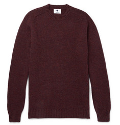 NN07 Nathan Mélange  Knoll Wool Sweater