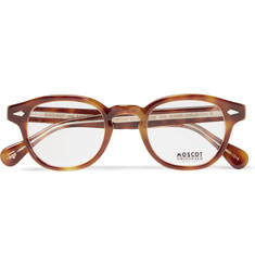 Moscot Lemtosh Round-Frame Tortoiseshell Acetate Optical Glasses