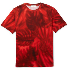 Balenciaga Slim-Fit Printed Cotton-Jersey T-Shirt