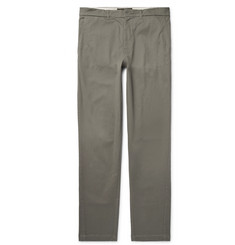 Freemans Sporting Club Slim-Fit Cotton-Twill Chinos