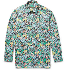Freemans Sporting Club Printed Linen Shirt