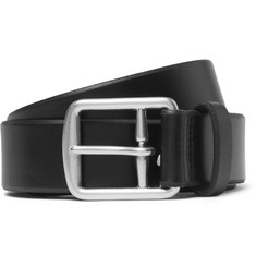 Polo Ralph Lauren 3.5cm Black Leather Belt