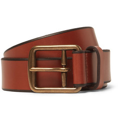 Polo Ralph Lauren 3cm Tan Leather Belt