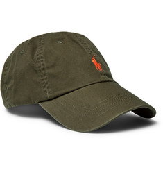Polo Ralph Lauren Embroidered Cotton-Twill Baseball Cap