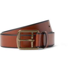 Polo Ralph Lauren - 3.5cm Brown Leather Belt