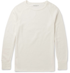 nonnative Dweller Slim-Fit Waffle-Knit Cotton T-Shirt