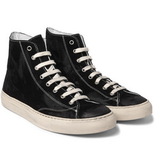nonnative - Student Suede High-Top Sneakers
