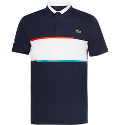 Lacoste Tennis Slim-Fit Jersey and Piqué Tennis Polo Shirt