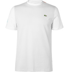 Lacoste Tennis Printed Cotton-Jersey Tennis T-Shirt
