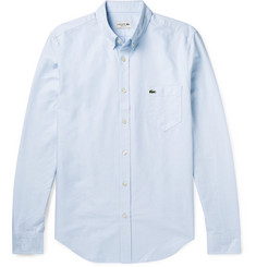 Lacoste - Slim-Fit Button-Down Collar Cotton Oxford Shirt