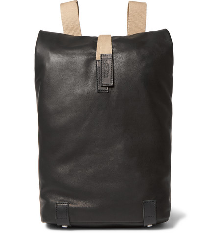 Brooks England - Pickwick Small Leather Backpack - Black