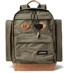 Eastpak Killington Leather-Trimmed Canvas Backpack