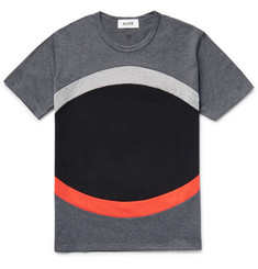 Aloye Panelled Colour-Block Cotton-Jersey T-Shirt