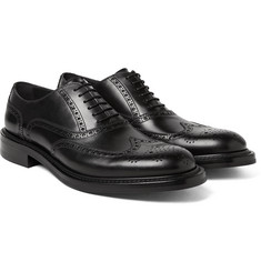 O'Keeffe - Felix Water-Resistant Leather Wingtip Brogues