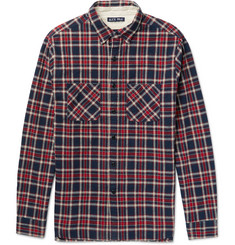 Alex Mill - Slim-Fit Plaid Brushed Cotton-Flannel Shirt