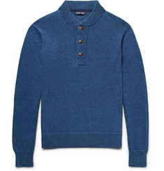Alex Mill - Mélange Cotton Henley Sweater