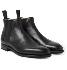 Edward Green - Camden Cross-Grain Leather Chelsea Boots