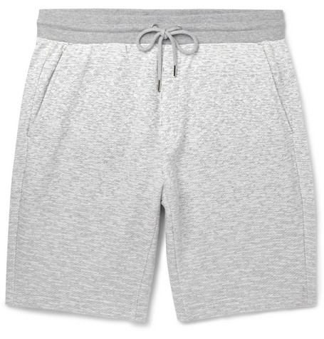michael kors male michael kors loopback cottonjersey shorts gray