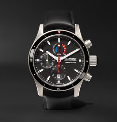 Bremont - Oracle Team USA Regatta Chronograph 43mm Titanium and Rubber Watch