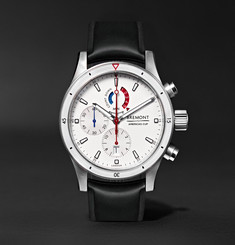 Bremont Oracle Team USA Regatta 43mm Titanium and Rubber Chronograph Watch