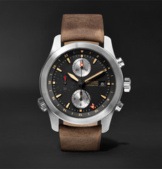 Bremont - ALT1-ZT/51 Chronograph 43mm Stainless Steel and Leather Watch