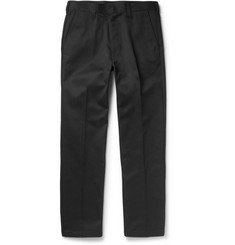 Slim-fit Pleated Wool Trousers Wacko Maria Collections New Pa3SYZXk