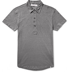 Orlebar Brown - Branigan Slim-Fit Slub Linen Polo Shirt