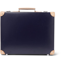 "Kingsman - + Globe-Trotter 18"" Pinstripe-Lined Attaché Case"
