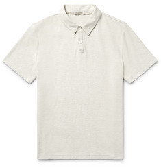 Onia Alec Slim-Fit Stretch Cotton-Blend Terry Polo Shirt