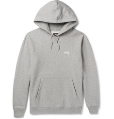 Stüssy Fleece-Back Cotton-Jersey Hoodie