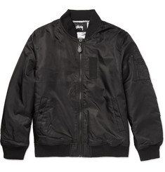 Stüssy Satin-Shell Bomber Jacket