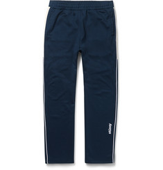 Stüssy Tapered Contrast-Trimmed Jersey Sweatpants