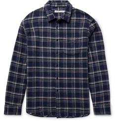 Outerknown Eugene Checked Organic Cotton-Flannel Shirt