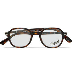 Persol Square-Frame Tortoiseshell Optical Glasses