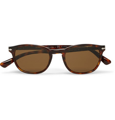 Persol Square-Frame Tortoiseshell Acetate Polarised Sunglasses