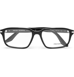 Prada Square-Frame Acetate Optical Glasses