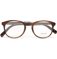 Prada - Round-Frame Acetate Optical Glasses