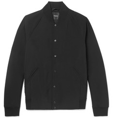 Theory Furg Stretch-Shell Bomber Jacket