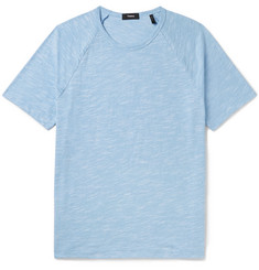 Theory Dustyn Slim-Fit Slub Cotton-Blend T-Shirt