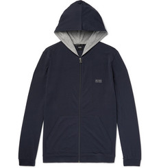Hugo Boss Stretch-Cotton Jersey Hoodie