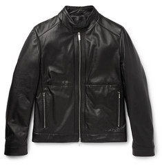 Hugo Boss Nortilo Slim-Fit Leather Jacket