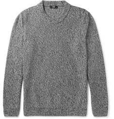 Hugo Boss Igus Mélange Mouline Cotton Sweater